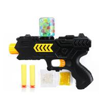 ingrosso accessori pistole aria-Acqua di alta qualità Orbeez pistola a sfera di cristallo airsoft pistola ad aria 2-in-1 soft Bullet freccette Paintball For Kids accessori di gioco pistola