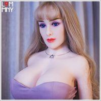 japanese full solid doll toptan satış-YRMCOLOT 158 cm En Kaliteli Japon Oral Anal Gerçek Seks Bebek, Metal Iskelet ile tam Vücut Boyutu Gerçek Katı Silikon Aşk Bebek