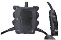 auriculares tácticos airsoft al por mayor-Z-tactical R.3 U series PTT dual Accesorios para auriculares Airsoft Connector Z131