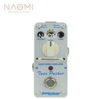 aşırı etkili efekt pedalı toptan satış-NAOMI Aroma Gitar Efekt Pedal ATP-3 Klasik Tüp Overdrive Pedalı Gitar Etkisi Tüp Driven Amp Simülatörü