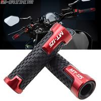 Wholesale motorbike handlebars resale online - CNC Motorcycle handlebar grip handle bar Motorbike handlebar grips For MT125 MT MT