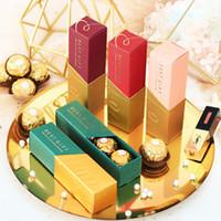 hochzeit schokolade verpackung groihandel-Lippenstift-Form-Süßigkeit-Kasten-Hochzeits-Duschen-Geschenk-Kasten-Gastgeschenk-Beutel-Süßigkeits-Paket-Schokoladen-Verpackungs-Kästen