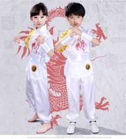 ingrosso abbigliamento donna wushu-4 Abiti da spettacolo per bambini Abiti da Wushu per uomo e donna Performance da Wushu Abiti da performance Kungfu per bambini Taijiquan