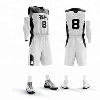 ingrosso maglia di ritorno rapido-personalizzato fai da te nuovo adulto Quick asciugatura maglie da basket set uomini vuoti maglie da basket uniformi di ritorno al passato maglie allenamento tute