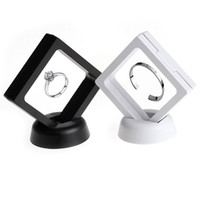 Suspended Floating Display Case Jewellery Coins Gems Artefacts Holder Stand Box