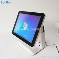Wholesale machine monitoring for sale - Group buy System Terminal Machine Touch Panel LCD Monitor Screen with Small Customer Display Cash Register