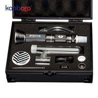 vaporizador directo al por mayor-2019 Fábrica directa Vape dispositivo de alta calidad vaporizador de hierba seca cera portátil aparejo pluma pluma de Kanboro ecube kit en stock