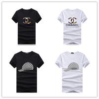 vêtements femme professionnel achat en gros de-2019 luxe hommes et femmes designer marque T-shirt coton vêtements marque garçon chemise à manches courtes Teet shirt designer professionnel T-shirt