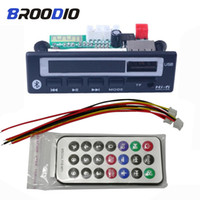 Wholesale MP3 Player MP3 WMA WAV Bluetooth Decoder Board V V Wireless Audio Module Color Screen USB TF FM Radio For Car
