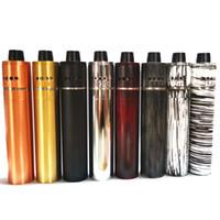 mekanik kalem mod kiti toptan satış-Subzero Shorty X kiti 510 Konu RDA Atomizer ile Mekanik Mod vape kalem Fit 18650 Pil 8 Renkler DHL Ücretsiz