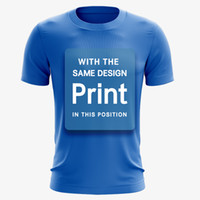 DRI FIT T Shirt print marina white