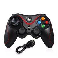 Wholesale one boxes games online - Terios T3 Wireless Bluetooth Gamepad Joystick Game Gaming Controller Remote Control For Samsung HTC Android Smart phone Tablet TV Box