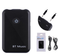 apt x bluetooth groihandel-Bluetooth V4.2 Sender-Empfänger-2-in-1 Wireless 3,5 mm AUX-Audio-Adapter APT-X HD Sound-Qualität für alle Smart Phones
