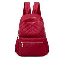 Wholesale stylish backpack bag for women resale online - Litthing Women Large Capacity Simple Stylish Waterproof Student Bag Backpack Anti Theft Women High Quality Backpack For Travel