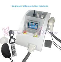 ingrosso yag apparecchi laser-Dispositivo di rimozione del tatuaggio dell'acne della cicatrice di rimozione della lentiggine della cicatrice del dispositivo di bellezza del laser del yag del nd del touch screen 1000w
