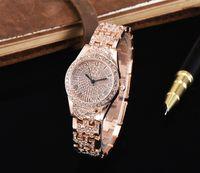 güzel saat kadın toptan satış-Moda Lady Elmas Elbise Master Kuvars İzle kadın Parti Renkli Bayanlar İzle Güzel Orologio Reloj