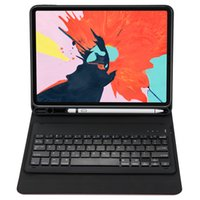 Wholesale keyboard for apple ipad resale online - 4 Color One piece tablet Bluetooth keyboard case for Apple ipad pro inch Wireless Tablet keyboard for ipad pro inch K01B