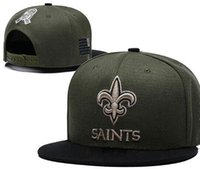 631d0e5bdc1 2019 Fan s store outlet sunhat headwear Snapback Saints Hat NO Cap Salute  To Service Adjustable All Team Baseball Ball Strapback sports hats