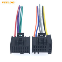 Wholesale dvd for car installation for sale - FEELDO Car Stereo ISO Audio Installation Wiring Harness Adapter For Chevrolet Captiva Enclave Silverado Tahoe Radio CD DVD Cable
