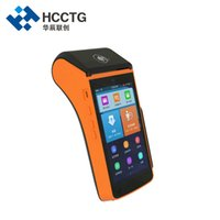 china touch screen android groihandel-China Günstige All In One Touch Screen Handheld Android POS-Terminal mit Bus Ticketdrucker P20L