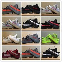 Wholesale baby tennis shoes for sale - 2018 Infant Baby Boy Girl Kids Youth Children shoes Sports Shoes Kanye West V2 Pirate Black Turtle Sneakers eur