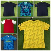 futbol ingiltere toptan satış-2020 İngiltere Londra Highbury futbol formaları Kısa kollu futbol camisetas de futbol gömlek eğitim takım futbol takımları Maillot de Ayak