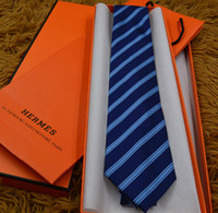 2a8f5aa7ed84 Wholesale designer tie brands online - 20 color new luxury designer tie  brand silk ties high