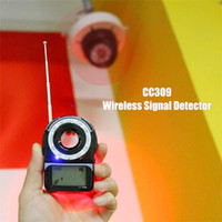 Wholesale wireless gps detector for sale - Group buy CC309 Wireless Signal Bug Detector Portable Anti Candid Camera Privacy Protector GPS Finder Tracker Protect Security Dropshipp