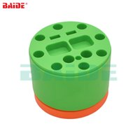 Wholesale electronic shops for sale - Group buy 69mm x mm Cylindrical Revolving Holder for Screwdriver Phone Repair Tools Electronics Shop Rotary Tool Box Shelving Rack