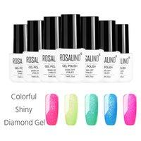 Wholesale removable gel nails resale online - Women s Lady Nail Polish Gel DIY Art Portable Long Lasting Removable Makeup Beauty JS11