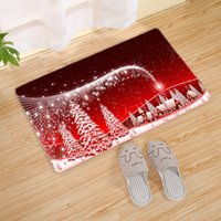 Wholesale activity mats resale online - U miss Pad Christmas Bath Mat Pattern Household Toilet Mat Bedroom Living Room Carpet Home Furnishing Activities