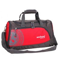 Wholesale female sport bags resale online - Hot Nylon Outdoor Sports Gym Bag Professional Men Women Fitness Travel Handbag Hot Training Female Yoga Duffel Shoulder Bag