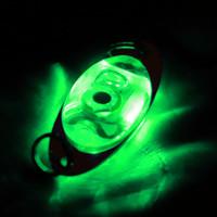 equipamento de pesca profundo venda por atacado-Baixo Colher Crank Água salgada enfrentar novos Lamp LED Submarina Deep Drop Eye Forma Pesca Squid Peixe Lure Luz LED Baixo Colher