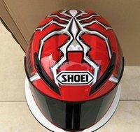 ingrosso caschi originali del motociclo-Shoei Quattordici 93 Marc Marquez CASCO REPLICA Casco integrale per moto fuoristrada da corsa (replica-non originale)