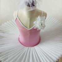 bale giysileri kız toptan satış-Kadın Bale Dans Elbise Çocuk Kız Bale Dans Tutu