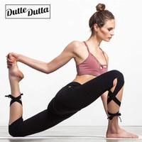 Wholesale women's yoga capri pants resale online - Womens Leggins Sport Leggings For Women Fitness Yoga Pants Woman Female Sports Women s Gym Capri Ladies Black Workout Capris