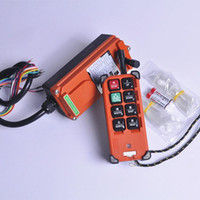 Wholesale industrial cranes online - F21 E1B Industrial Remote Control Crane Wireless redio control1 Transmitter Receiver for VHF310 MHZ for truck hoist crane