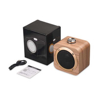 Wholesale mobile loudspeakers for sale - Group buy Wooden Bluetooth Wireless Speaker Woden Loudspeakers Surround Mini Wood Wireless Music Player Speaker for Phone computer
