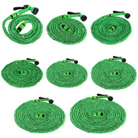 Wholesale expandable hose for garden resale online - Expandable Flexible Water Hoses Pipe Watering Spray Gun for Car Garden Practical Automobile Cleaning Fittings
