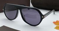 новые популярные солнцезащитные очки оптовых-829S новый популярный дизайнер солнцезащитные очки квадратная рамка расширенный планка производства очки мужчины бизнес очки vu400 защиты
