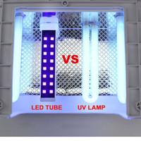ingrosso ha condotto le lampadine uv del lucido-4x 9W LED / luce della lampada UV della lampadina Sostituzione del tubo compatibile per arte del chiodo 9W 36W lampada UV polacco del gel UV essiccatore cambiamento LED NA270