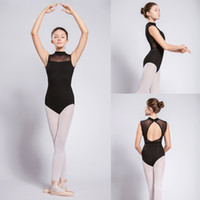 48574cb900 Ballet Dance Leotard For Women Turtleneck Sleeveless Leotard Stage Dancing  Costume Dance Practice Gymnastics Clothes