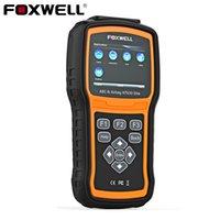 escáner de código srs al por mayor-FOXWELL NT630 Elite OBD2 Escáner automotriz ABS SRS Airbag SAS Crash Date Reset Code Reader Engine ODB obd2 Auto Diagnostic Tool