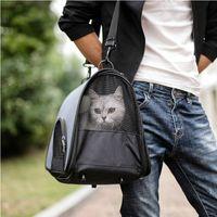 Wholesale drop shipping designer handbags resale online - Pet Backpack Messenger Carrier Bag Cat Dog Kennel Outgoing Travel Packet Breathable Pet Handbag Yorkie Chihuahua Drop Ship