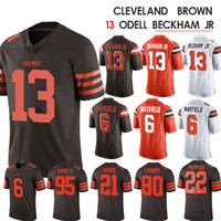 6b4cfb139 Wholesale baker mayfield jersey online - 13 Odell Cleveland Jr jersey  Beckham Brown Baker Mayfield Landry