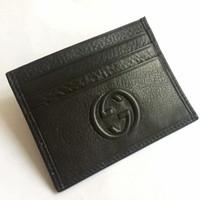 deri kartvizit kılıfı toptan satış-Tasarımlar Hakiki Deri Banka Kartı Durumda Ince Mini Kart Cüzdan Erkekler İş KIMLIK Kredi Kartı Tutucu Kartları Paketi Nakit Para Pocke
