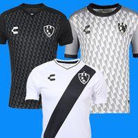 zombies hemd großhandel-2019 2020 mexiko Netflix Club de Cuervos Trikots 18 19 20 Liga MX mexico Verein Ravens Camiseta ZOMBIE Fußballshirt E-Paket