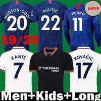 kit montage großhandel-Thailand Pulišić KANTE ABRAHAM LAMPARD Odoi WILLAN Fußball-Trikot 2019 2020 MOUNT Camiseta de Fußball-Kits Shirt 19 20 Männer Frauen Kinder SETS
