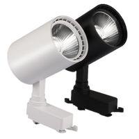 lâmpada de refletor cob venda por atacado-12 W 20 W 30 W COB Faixa de Luz Trilho Holofotes Leds Faixa de Alumínio Luzes Da Lâmpada Luminária Spot Luzes Refletores Para Loja de Roupas