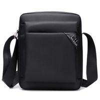 sling de tabuleiro venda por atacado-Mens Messenger Tablet Bolsa de Ombro Satchel Bolsa CrossBody Prático Sling Bag Homens Homens Sólidos Bolsa Sólida